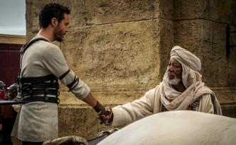 Scena di Ben-Hur, la storia di Cristo