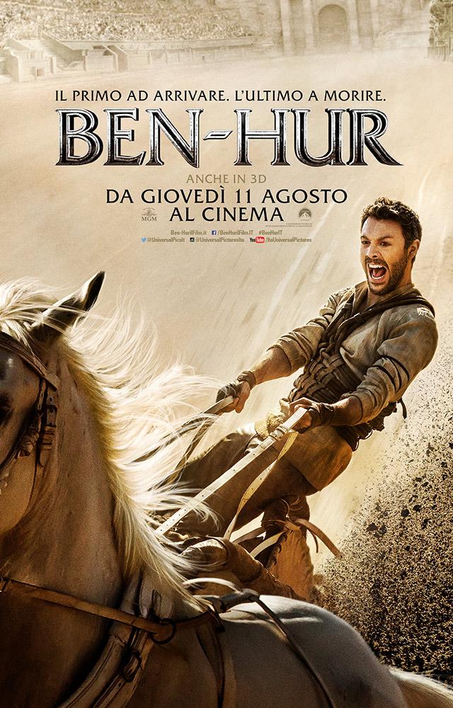 Locandina di Ben-Hur, la storia di Cristo