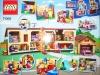 Retro della scatola del set Simpson di Lego