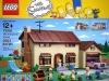 Scatola del set Simpon di Lego